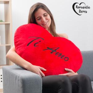 Coeur en Peluche Géant Ti Amo Romantic Items