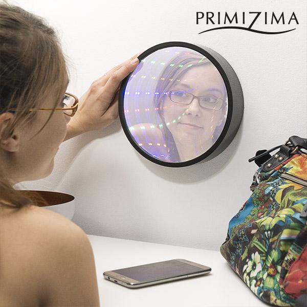 Miroir Tunnel LED Multicolore Primizima