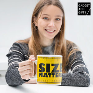Tasse XXL Size Matters Gadget and Gifts