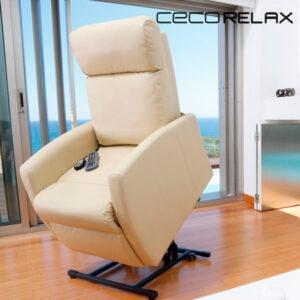 Fauteuil de Relaxation Massant Lève-Personne Cecorelax Compact 6007