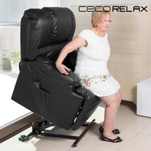 Fauteuil de relaxation massant releveur Cecorelax 6011