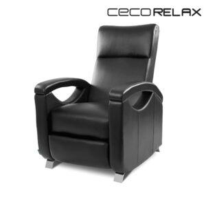 Fauteuil Relax Masseur Push Back Noir Cecorelax 6025