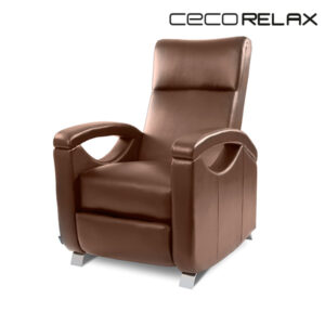 Fauteuil Relax Masseur Push Back Marron Cecorelax 6027