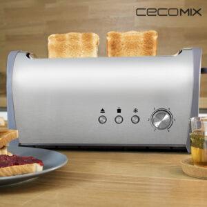 Grille-Pain Cecomix Steel 1L 3036 1000W