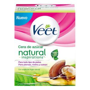 Pot de Cire Dépilatoire Tiède Natural Inspirations Veet 250 ml