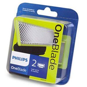 Lames Pour Tondeuse Philips Oneblade 2 Pcs