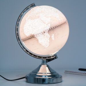 Lampe Globe Terrestre Shine Inline
