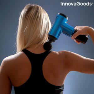 Pistolet De Massage Pour La Relaxation Et La Recuperation Musculaire Relaxer Innovagoods 120708 (1)