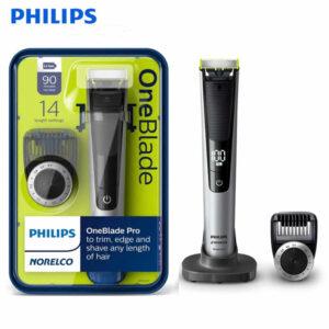 Rasoir Électrique Rechargeable Philips QP6520/20 ONEBLADE Noir Argenté