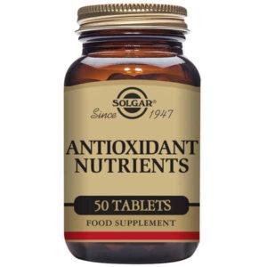 Nutriments antioxydants Solgar (50 comprimés)