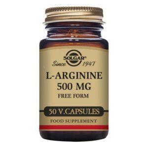 L-Arginine Solgar 500 mg (50 Capsules)