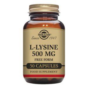 L-Lysine Solgar 500 mg (50 Capsules)