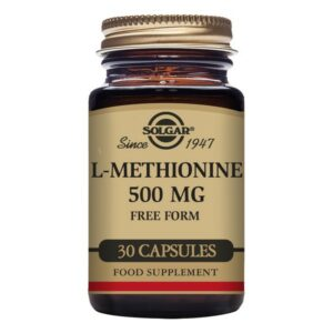 L-Méthionine Solgar 500 mg (30 Capsules)