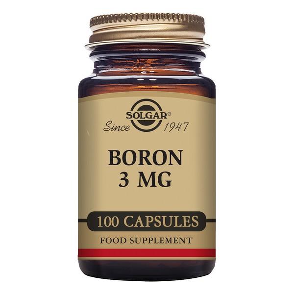 Bore Solgar 3 mg (100 Capsules)
