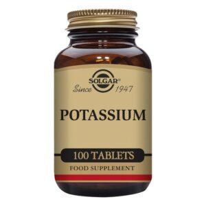 Potassium (gluconate) Solgar (100 comprimés)