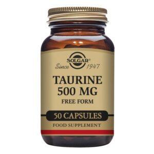 Taurine Solgar 500 mg (50 Capsules)